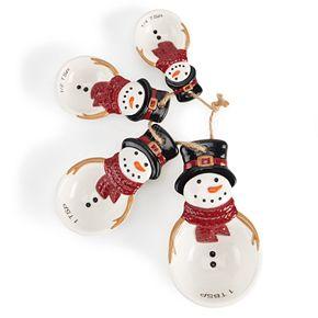 St. Nicholas Square® Snowman Measuring Spoon Set