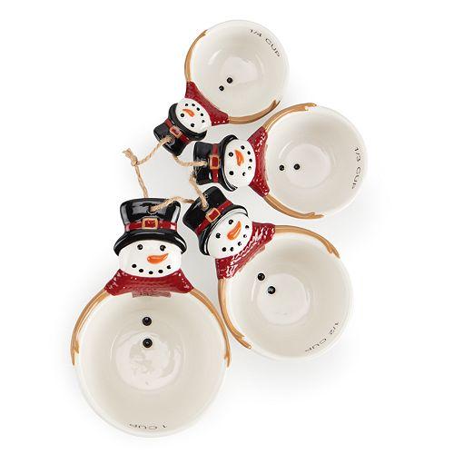 St Nicholas Square 174 Snowman Measuring Cup Set