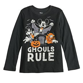 Boys 4-12 Disney's Mickey Mouse Spooky Season Long Sleeve Tee by Jumping Beans®