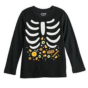 Boys 4-12 Jumping Beans® Skeleton Halloween Tee