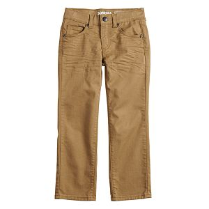 Boys' 4-12 Sonoma Goods For Life® Twill Pants