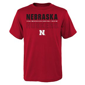 Boys 4-20 Nebraska Cornhuskers Launch Tee