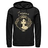 Disney's Aladdin Men's Jasmine Graphic Hoodie