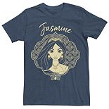 Disney's Aladdin Men's Jasmine Graphic Tee