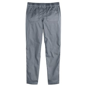 Girls 4-16 & Plus Size SO® Rib Waist Patch Pant