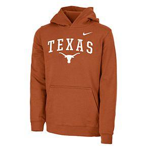 Boys 8-20 Nike Texas Longhorns Logo Hoodie