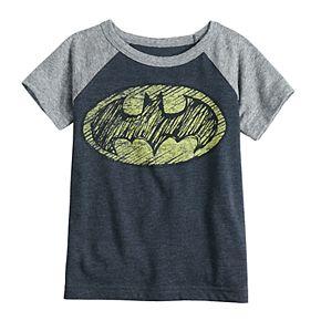 Toddler Boy Jumping Beans® DC Comics Batman Raglan Graphic Tee