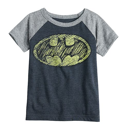 Toddler Boy Jumping Beans® DC Comics Batman Raglan Graphic Tee