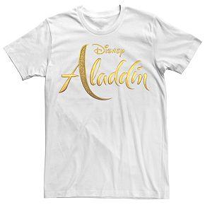 Disney's Aladdin Men's Logo Graphic Tee