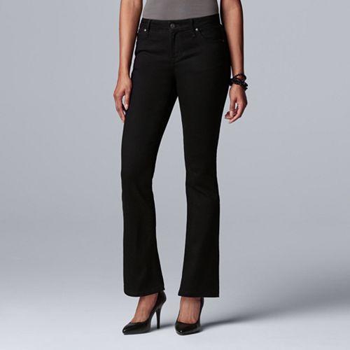 Women's Simply Vera Vera Wang Power Stretch Bootcut Jeans