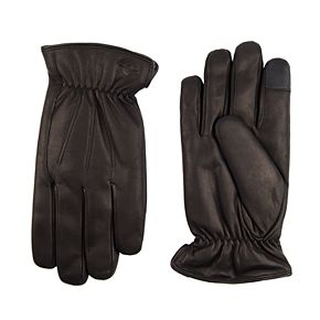 Men's Dockers® InteliTouch Leather Gloves