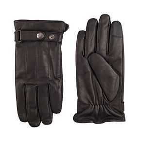 Men's Dockers® Snap Strap Leather Glove