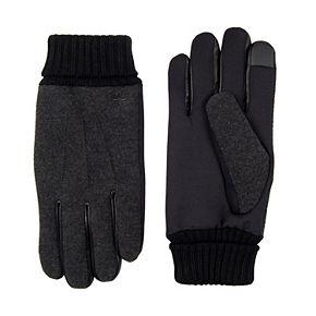 Men's Dockers® InteliTouch Stretch Wool-Blend Gloves