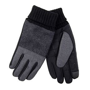 Men's Dockers® InteliTouch Plaid Stretch Gloves