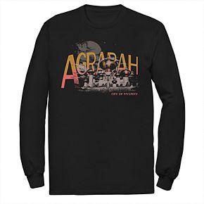 Disney's Aladdin Men's Agrabah Long Sleeve Graphic Tee