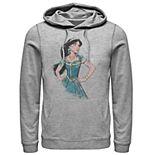 Disney's Aladdin Men's Jasmine Painting Graphic Hoodie