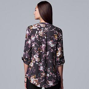 Women's Simply Vera Vera Wang Pintuck Soft Blouse
