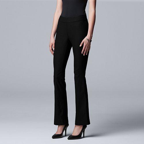 Women's Simply Vera Vera Wang Modern Twill Bootcut Pants