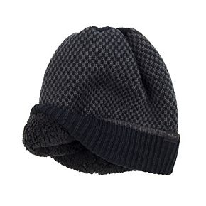 Men's Dockers® Beanie Hat with Sherpa Lining