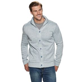 Big & Tall SONOMA Goods for Life? Supersoft Sweater Fleece Cardigan