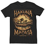 "Disney's The Lion King Men's ""Hakuna Matata"" Graphic Tee"