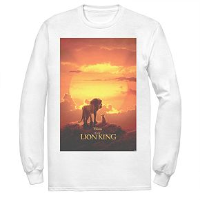 Disney's The Lion King Men's Poster Long Sleeve Graphic Tee