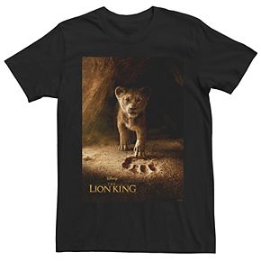 Disney's The Lion King Men's Young Simba Graphic Tee
