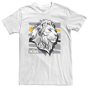 Disney's The Lion King Men's Mufasa Graphic Tee