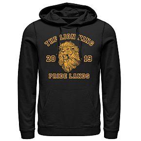 Disney's The Lion King Men's Simba Pride Lands Graphic Hoodie