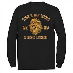 Disney's The Lion King Men's Simba Pride Lands Long Sleeve Graphic Tee