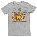 Disney's The Lion King Men's Simba, Nala, Timon & Pumba Graphic Tee