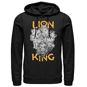 Disney's The Lion King Men's Group Graphic Hoodie