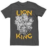 Disney's The Lion King Men's Group Graphic Tee
