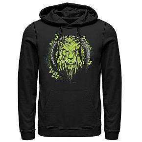 Men's Disney Lion King Geometric Lime Scar Hoodie
