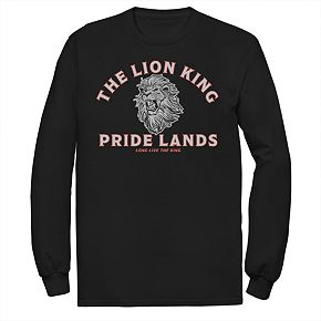 Men's Disney Lion King Pride Lands Long-Sleeve Tee