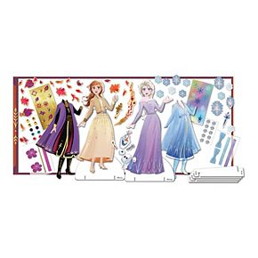 Disney's Frozen 2 Magnetic Dress Up Closet Activity Set