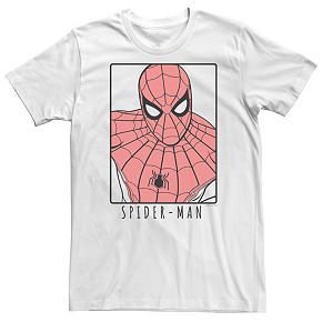 Men's Marvel Spider-Man Classic Cartoon Tee