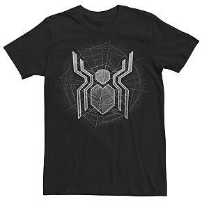Men's Marvel Spider-Man Web Logo Tee