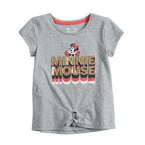 Disney's Minnie Mouse Toddler Girl Knot-Front Tee by Jumping Beans®