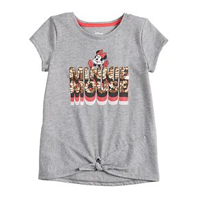 Disney's Minnie Mouse Girls 4-12 Knot-Front Tee by Jumping Beans®