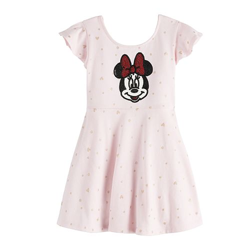 Disney's Minnie Mouse Toddler Girl Print Skater Dress by Jumping Beans®
