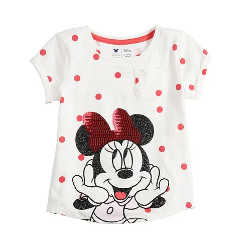 Disney's Minnie Mouse Toddler Girl Sequin Graphic Top by Jumping Beans®