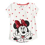 Disney's Minnie Mouse Girls 4-12 Sequin Graphic Top by Jumping Beans®