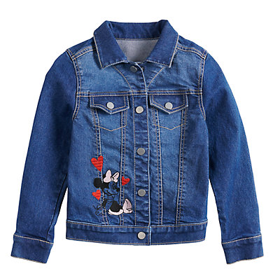 Disney's Minnie Mouse Girls 4-12 Denim Jacket by Jumping Beans®