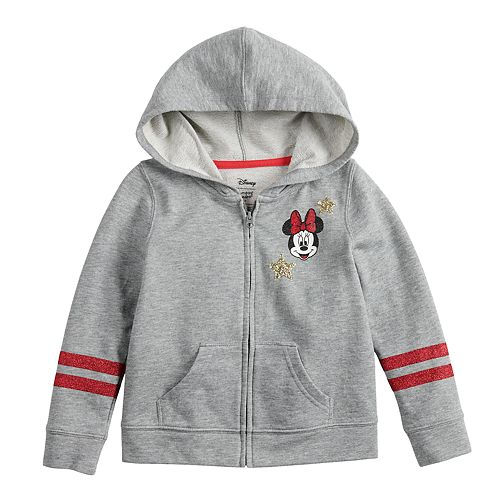 Disney's Minnie Mouse Toddler Girl Glittery Hoodie by Jumping Beans®