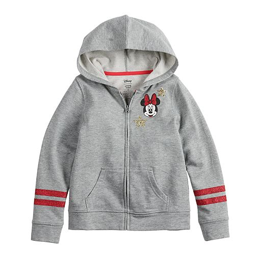 Disney's Minnie Mouse Girls 4-12 Glittery Hoodie by Jumping Beans®