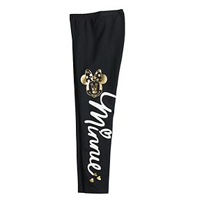 Disney's Minnie Mouse Girls 4-12 Graphic Leggings by Jumping Beans®