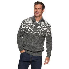 Men's Croft & Barrow Quarter-Zip Sweater