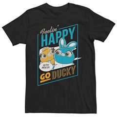 Men's Disney/Pixar Toy Story Happy Go Ducky Tee
