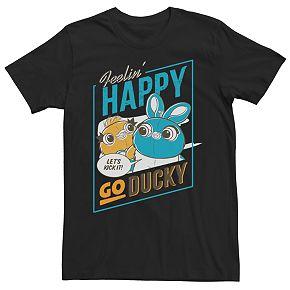 Men's Disney/Pixar Toy Story Happy Go Ducky Tee
